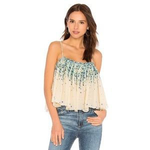 NEW Free People Instant Crush Floral Print Tank